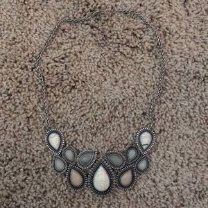 Jewelry - MARBLE STATEMENT NECKLACE